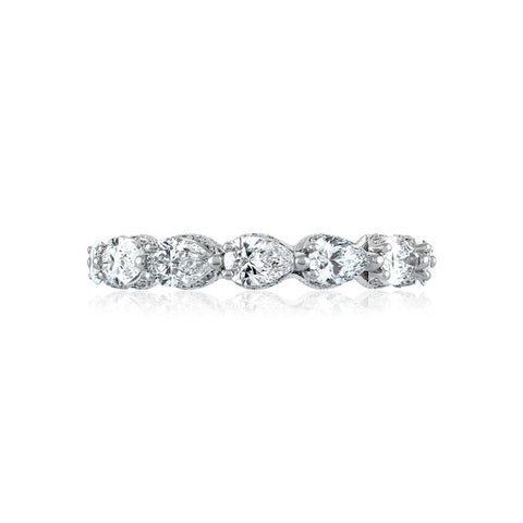 Tacori RoyalT Pear Shape Diamond Eternity Band HT264265