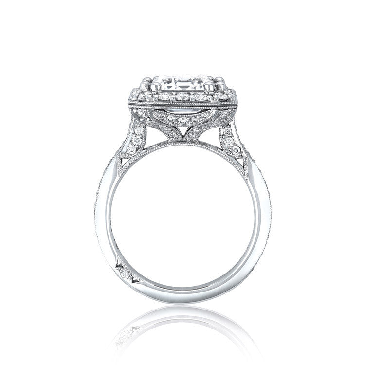 Tacori RoyalT 3/4 Way Pave Ceiling Diamond Engagement Ring HT2652EC85X65