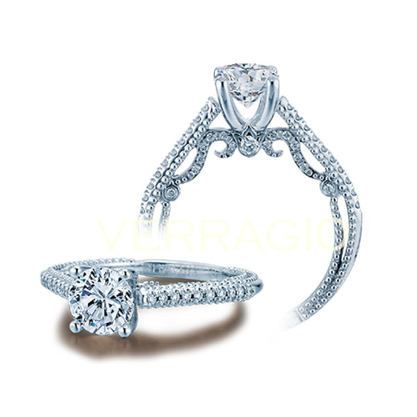 Verragio Round Center Diamond Engagement Ring INSIGNIA-7059SR