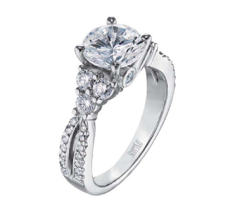 Scott Kay Ladies Diamond Engagement Ring M1110RD