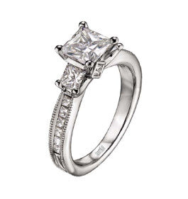 ScottKay Ladies Diamond Engagement Ring M1154QD10