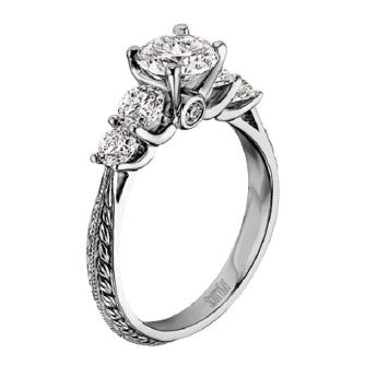 Scott Kay Ladies Diamond Engagement Ring M1161RD10