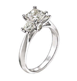 Scott Kay ladies diamond engagement ring M1164QD10
