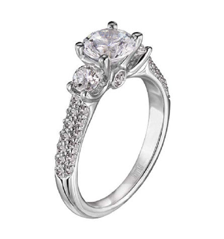 Scott Kay Ladies Diamond Pave Engagement Ring M1165RD10