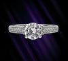Scott Kay Ladies Pave Diamond Engagement Ring M1214RD10