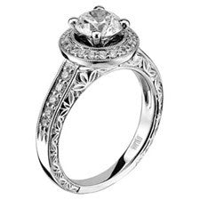 Scott Kay 14K White Gold Diamond Engagement Ring M1603R310