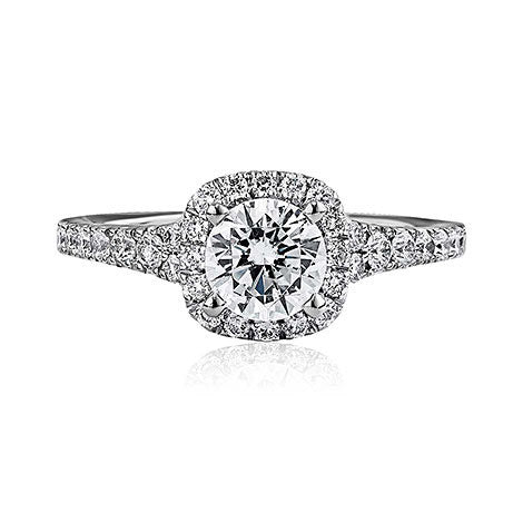 Scott Kay 14K White Gold Diamond Engagement Ring M1657R310