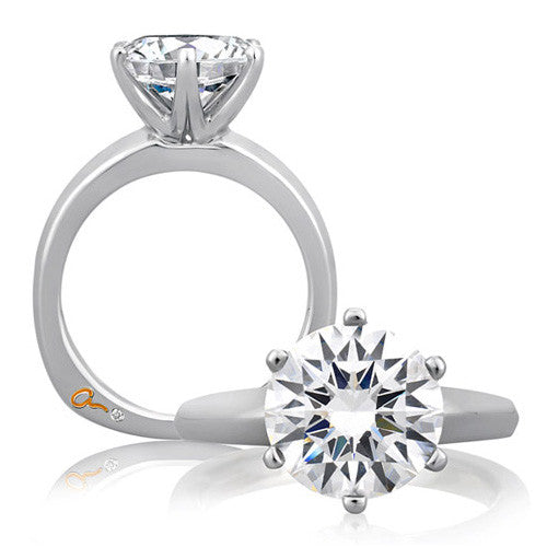 A.JAFFE Solitaire Engagement Ring MES391/150