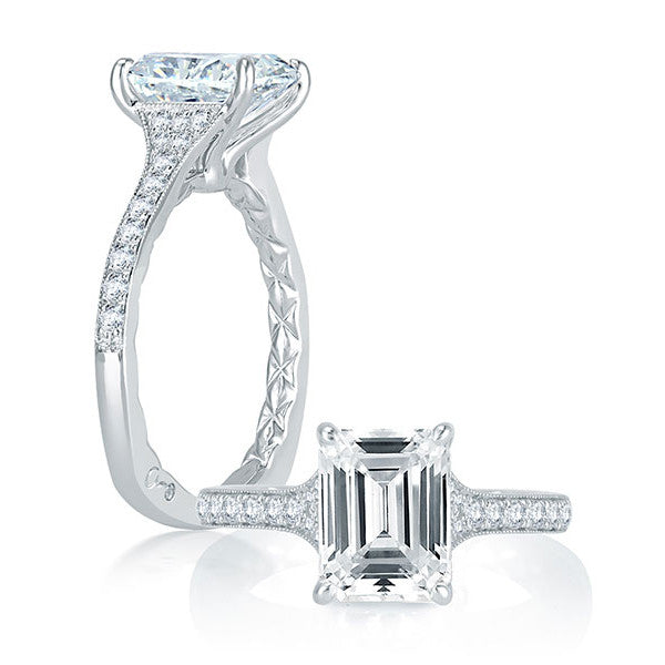 A.JAFFE Engagement Ring MES751Q / 226