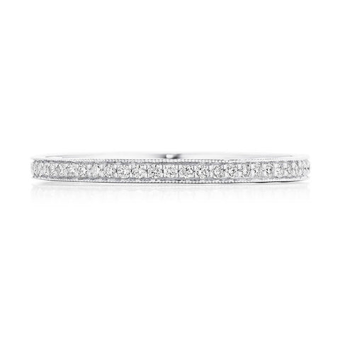 Tacori Coastal Crescent 3/4 Way Diamond Wedding Band P103B34FW