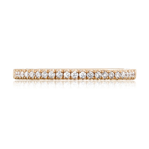 Tacori Coastal Crescent Diamond Wedding Band P104BFPK