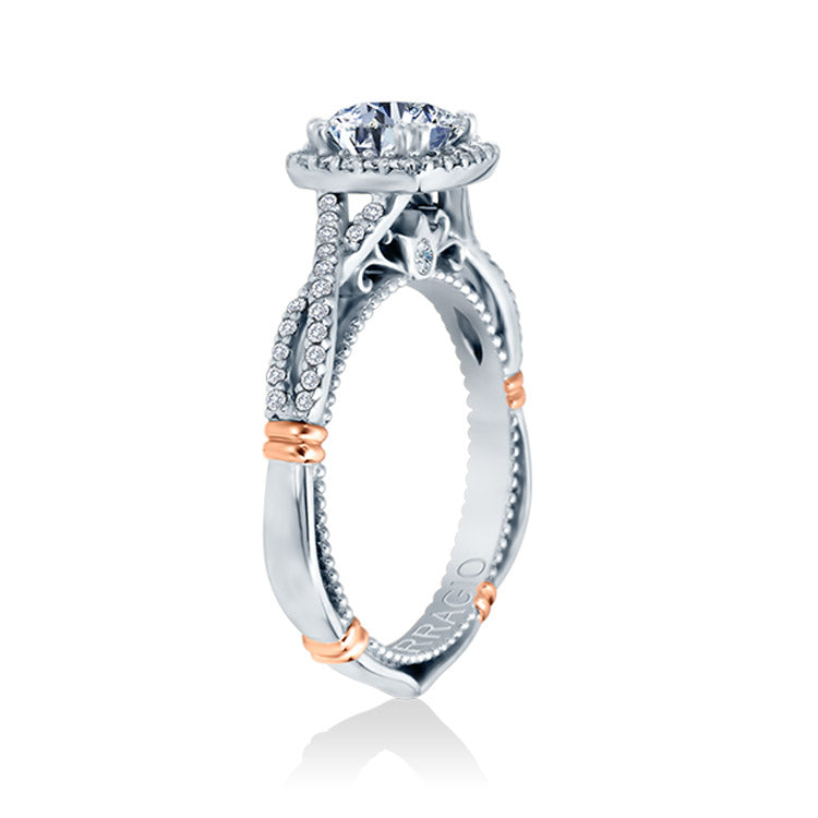 Verragio 14K White Gold Diamond Engagement Ring Parisian-106CU