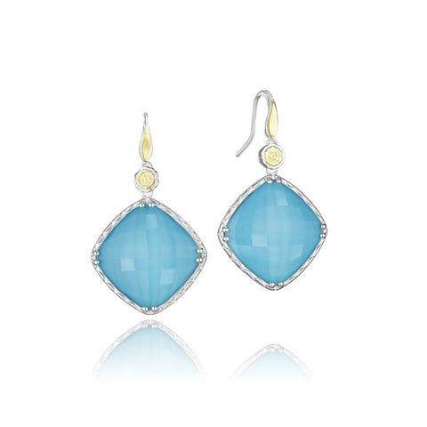 Tacori Bold Drop Neo-Turquoise Earrings SE133Y05