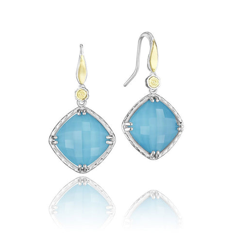 Tacori Island Rains Petite Solitaire Drop Earrings SE137Y05