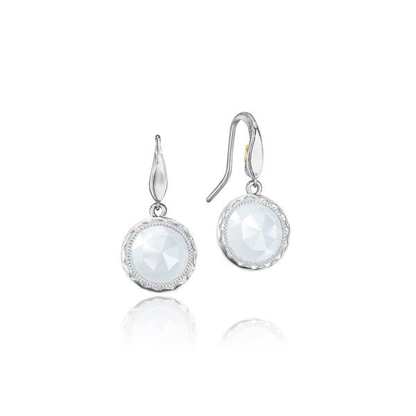 Tacori Simply Gem Chalcedony Silver Drop Earrings SE15503