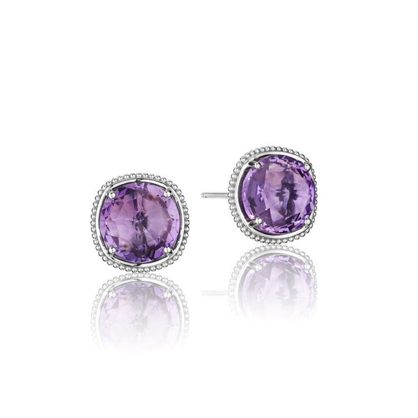 Tacori Lilac Blossoms Bold Simply Gem Stud Earrings SE15601