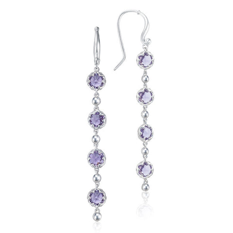 Tacori Sonoma Skies Rain Amethyst Drop Earrings SE21401