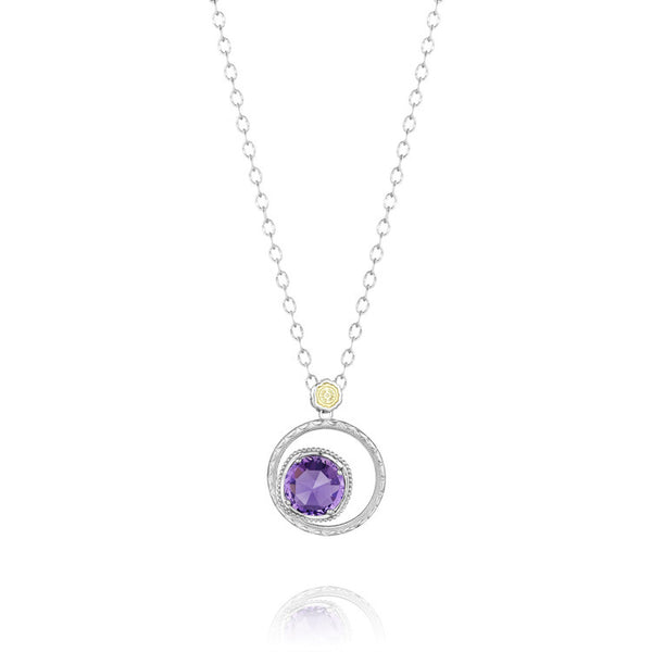 Tacori Bold Bloom Necklace featuring Amethyst SN14101