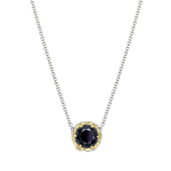 Tacori Crescent Station Necklace featuring Black Onyx SN204Y19