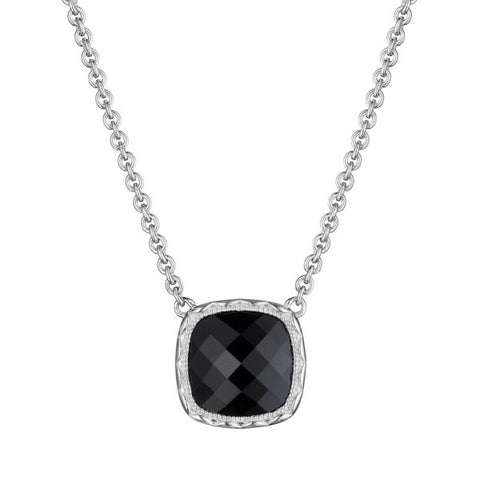Tacori Cushion Gem Necklace with Black Onyx SN23219
