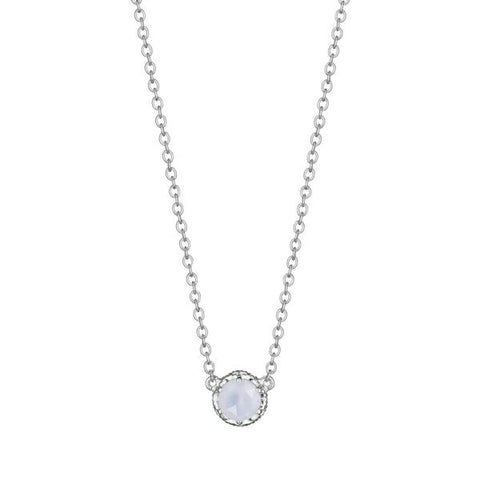 Tacori Cushion Gem Necklace with Chalcedony SN23603