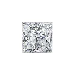 1.08Ct Square Modified Brilliant, I, VVS2, Good Polish, Fair Symmetry, GIA 6147477391
