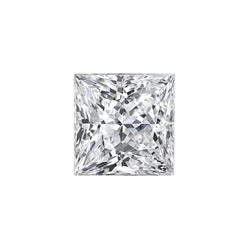 GIA 0.70 CT Square Modified Brilliant, F, I1, Very Good Polish, Fair Symmetry