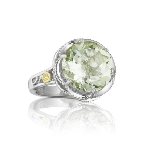 Tacori Color Medley Crescent Prasiolite Ring SR12312