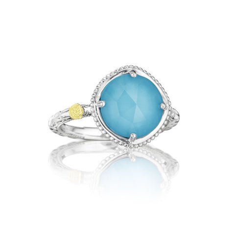 Tacori Bold Simply Gem Ring featuring Neo-Turquoise SR13505