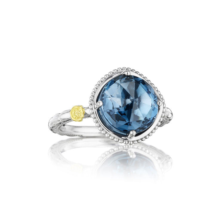 Tacori Island Rains Bold Simply Gem Solitaire Ring SR13533