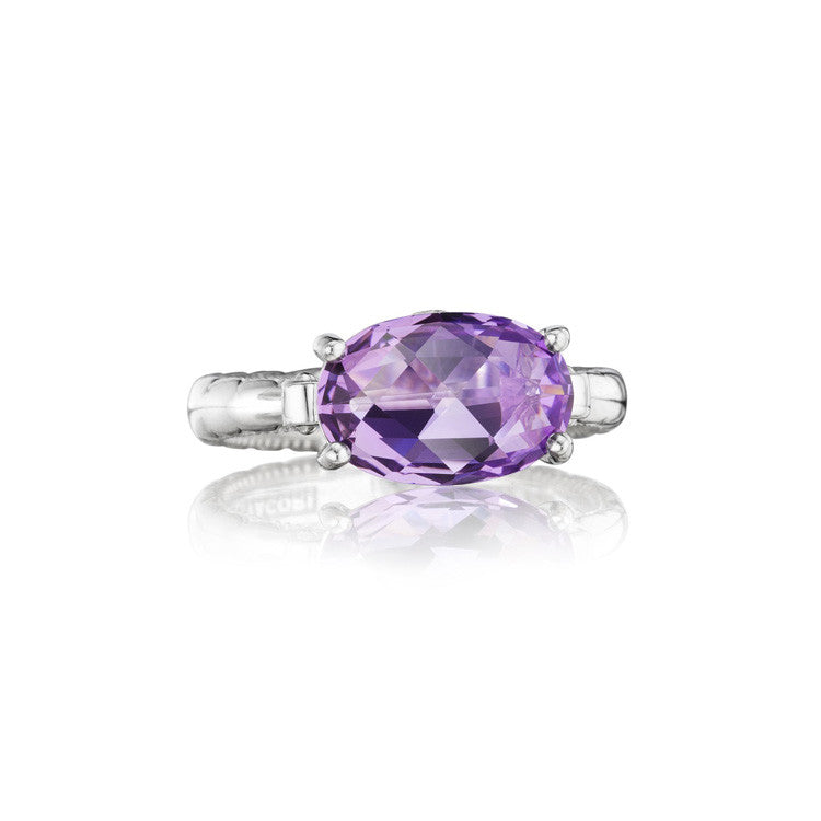 Tacori Lilac Blossoms East-West Oval Ring SR13901