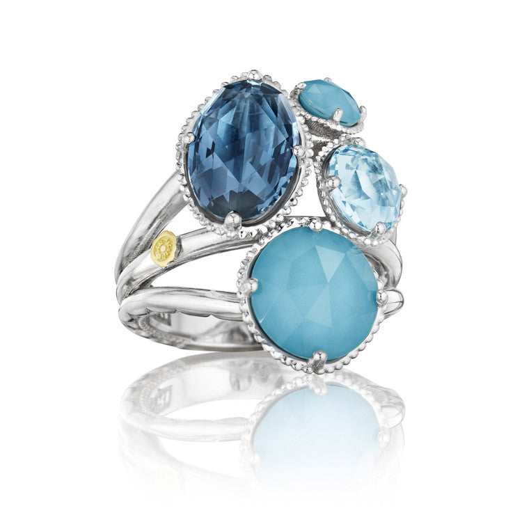 Tacori Precious Cluster Ring featuring Assorted Gemstones SR143050233