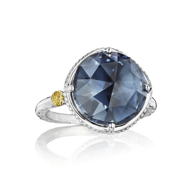 Tacori Bold Simple Gem London Blue Topaz Ring SR22533