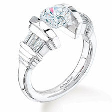 Gelin Abaci Tension Diamond Engagement Ring TR-132