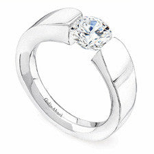 Gelin Abaci Tension Diamond Engagement Ring TR-172