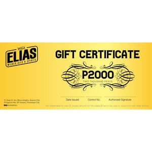_P2000 Gift Check - Elias Wicked Ales & Spirits