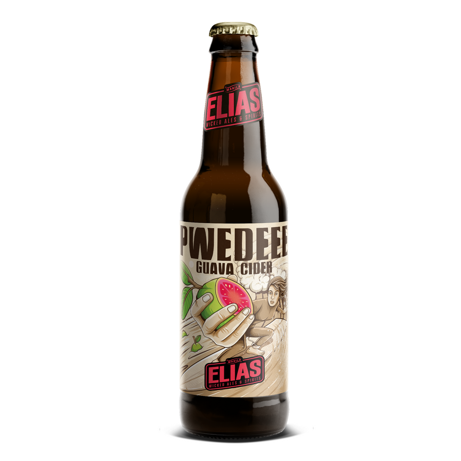 Pwedeee Guava Hard Cider - Elias Wicked Ales & Spirits