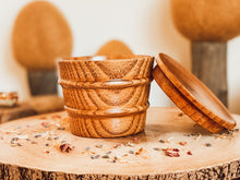 Load image into Gallery viewer, Wooden Pot With Lid