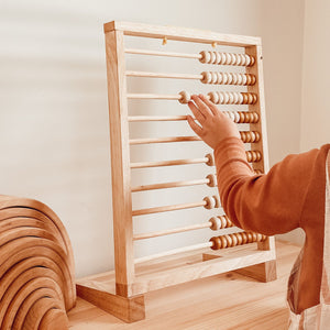 Giant Natural Abacus