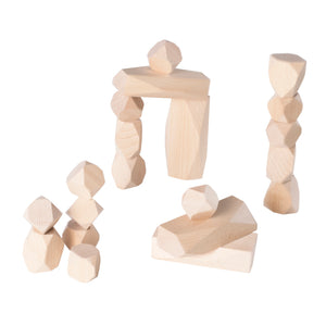 Wood Stackers - Standing Stones