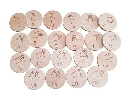 WYLTP Auslan Counting Set