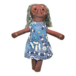 Aboriginal Elder Female Doll