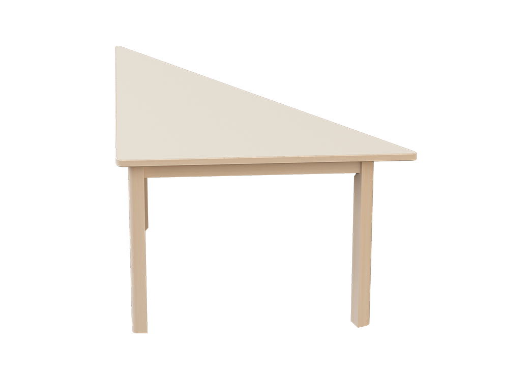 Natural Line Elegance Table Triangle