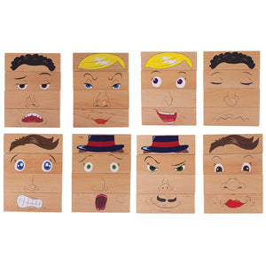 Wooden Feelings Blocks