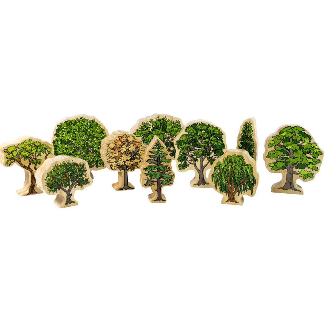 Wooden Australian Tree Set