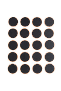Tactile Chalkboard Rounds