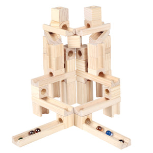 Natural Marble Run 45 Piece