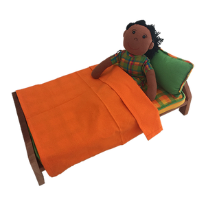 Natural Dolls Bed
