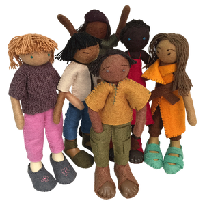 Multicutural Doll Value Pack