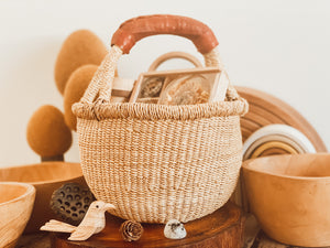 Round Carry Basket